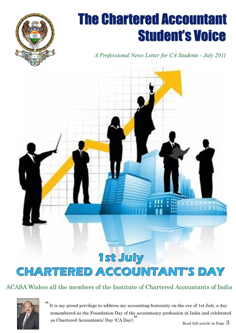 The Chartered Accountants Student's Voice - July 2011 ...